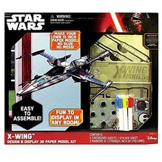 Star Wars XWing 3D Paper Airplane Kit * More info could be found at the image url.Note:It is affiliate link to Amazon. #tagblender