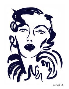 Lynnie Zulu | Illustrator | Central Illustration Agency #line #handdrawn #painterly #bold #illustration