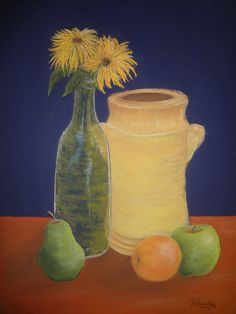 "Pastels, Still Life - ""Something Fruity"" -Created by Gianna Riccardi"