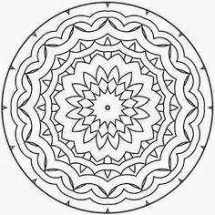 ԑ̮̑♦̮̑ɜ~Mandala para Colorear~ԑ̮̑♦̮̑                                                                                                                                                                                 Más