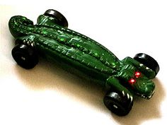 Alligator Pinewood Derby Car