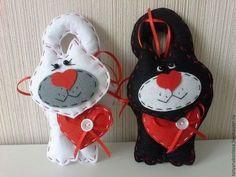 Игрушки на День святого Валентина какие можно сшить своими руками?