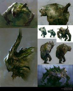 some creature design for fun