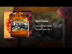 Vaude and the Villains Marie Laveau - YouTube Marie Laveau, Jazz Age, To Youtube, Whiskey Bottle, Songs, Scary, Funny, Im Scared, Funny Parenting