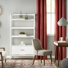 "Langley Street Easmor 70"" Etagere & Reviews 
