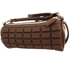 Chocolate Candy Bar Style Scented Handbag / Tote Bag, 8.5 inches