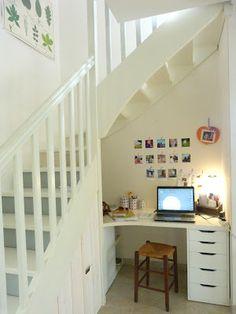 Maison d architecte par dupuis design en californie for Amenagement dessous d escalier