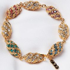 Jackie Kennedy Magnificent Royal Egg Bracelet