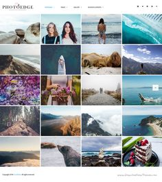 Photoedge is professional and versatile 8 in 1 #WordPress theme for creative #Photography #website. Download Now!