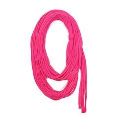 Necklush: Infinity Deep Pink