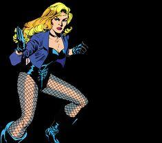 "arthursmera: "" Black Canary Vol. Dc Comics Girls, Marvel Comics, Dinah Drake, Blonde Redhead, Arrow Black Canary, Dinah Laurel Lance, Lance Black, Pokemon Cosplay, Comics"