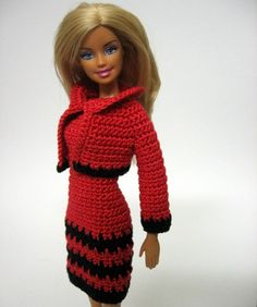 Red dress and bolero jacket | by loststitch