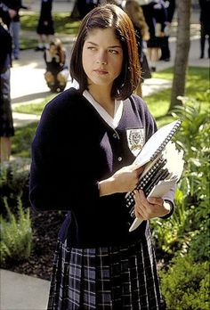 """Selma Blair and her role as the school girl """"Cecile Caldwell"""" in the 1999 movie """"Cruel Intentions"""""""