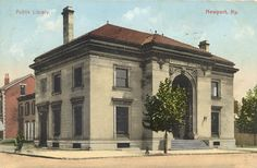 """The Newport Public Library, located in Newport, Kentucky--LOVE this place! It truly is, as I wrote in my self-published history of this Library, """"the soul of the city!"""""""
