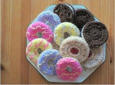 Knitted biscuits mmmmmmmmmm