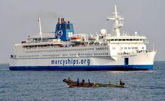EC native teaches math aboard #ship providing medical care in #Africa