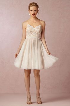 Messina Dress | En Pointe: BHLDN's Ballet-inspired Fall 2014 Collection