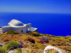 Sikinos, view to Aegean Sea.... Photo from Sikinos in Sikinos | Greece.com #Greece