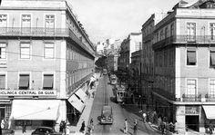 Rua da Palma (antes da construção do actual Martim Moniz) - 1949