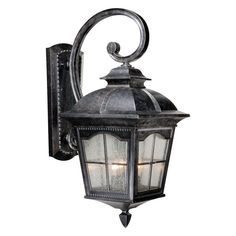 Vaxcel Arcadia Outdoor Wall Light - 11W in. Burnished Patina - AD-OWU110BP  sc 1 st  Pinterest & Cascadia Lighting Edinburgh 12.5-In H Textured Black Outdoor Wall ...