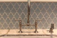 moorish backsplash kitchen ... Love this but don't know if it would go with our house