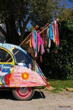 Ibiza Flags by Mymoodz # Gypsy Style, Hippie Style, Hippie Boho, Bohemian Style, Ibiza Style, Ibiza Travel, Ibiza Trip, Boho Bar, Village Festival