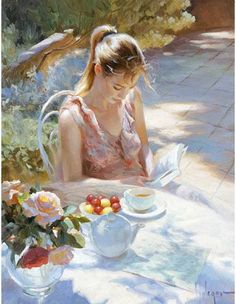 """Tea and Roses"" by Vladimir Volegov"