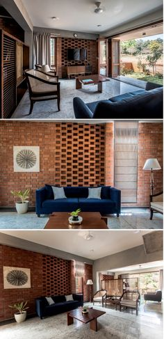 Brick House Draws Inspiration From Traditional Kerala Architecture | Kamat & Rozario Architecture - The Architects Diary