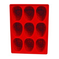 Spider-Man Silicone Ice Cube Tray - Diamond Select - Spider-Man - Barware at Entertainment Earth