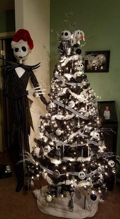 Nightmare Before Christmas Ornaments Tree Idea Country Times Decorations Uk Home Decor