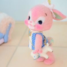 Felt Needle Pink Bunny (This is not my creation) It is just a pin.