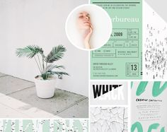 Moodboard 8. Missing the soft summer greens. | www.alicia-carvalho.com