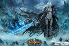 Female Lich King Cosplay as Stunning as You Can Imagine Fantasy Female Warrior, Female Armor, Fantasy Girl, World Of Warcraft, Warcraft Art, Cosplay, Sylvanas Windrunner, Lich King, Death Knight