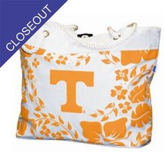 Tennessee Hibiscus Tote  Purchasing available through our Facebook page: https://www.facebook.com/handlewithflair1