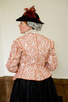 Extreme Costuming that you could wear now a days (jacket) Historical Costume, Historical Clothing, Elizabethan Clothing, Tudor Costumes, Cool Outfits, Fashion Outfits, Renaissance Costume, Period Outfit, Medieval Fashion