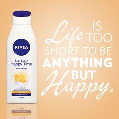 NIVEA Inspire Me! Jetzt bei unserem Gewinnspiel mitmachen und ein Produktset gewinnen: https://www.facebook.com/niveadeutschland/app_624733137570821 #nivea #inspiration #quote #happy