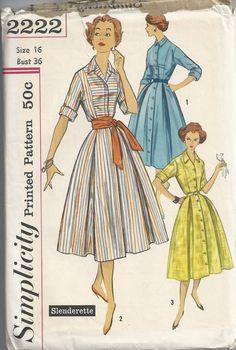 Vintage Simplicity Dress Patterns