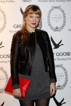 More Pics of Lea Seydoux Red Lipstick