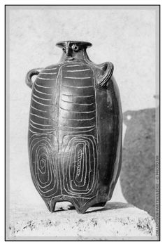 Ceramic vase (1948-50) by Monaco-born artist Albert Diato (1927-1985). via the artist's site