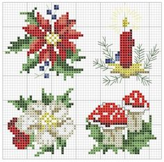 Discover thousands of images about Christmas poinsettia cross stitch. Cross Stitch Christmas Cards, Xmas Cross Stitch, Cross Stitch Cards, Christmas Cross, Cross Stitching, Cross Stitch Embroidery, Embroidery Patterns, Hand Embroidery, Cross Stitch Designs