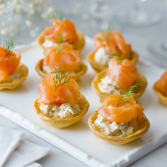 Looking for great pie pastry recipe and quiche recipe? Pampas want to inspire everyone utilising our pastry expertise. Smoked Salmon Canapes, Salmon Appetizer, Smoked Salmon Recipes, Pasta Recipes Indian, Chicken Pasta Recipes, Seafood Recipes, Appetizers For Party, Appetizer Recipes, Indian Dinner Menu