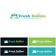 Fresh Smiles at Magnolia Family Dentistry - Help us create sparkling new smiles for our patients! Brand Identity Design, Logo Design, Logo Samples, Family Dentistry, Create A Logo, Label Design, Magnolia, Work Project, Smile