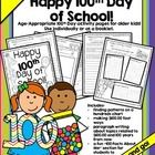 Hooray!+Hooray!+It's+the+100th+Day!+ Even+the+big+kids+in+the+school+like+to+celebrate! This+is+a+12-page+product+that+includes+Math+and+Literacy+a...