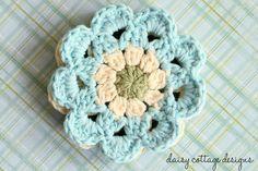 Japanese Flower Motif Crochet Pattern