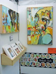 Abstract Portrait Painting, Portrait Art, Painting & Drawing, Portrait Paintings, Bright Colors Art, Watercolor Face, Face Art, Figurative Art, Oeuvre D'art