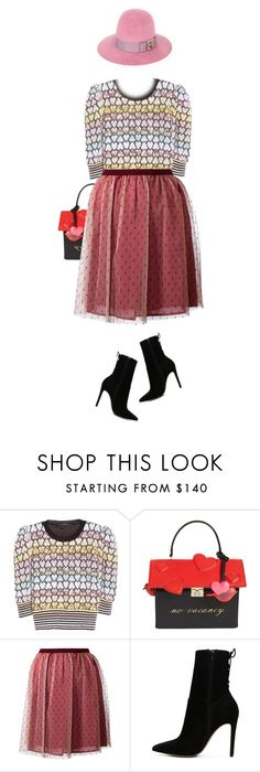 """""""Untitled #1743"""" by zayngirl1dlove ❤ liked on Polyvore featuring Marc Jacobs, Kate Spade, RED Valentino, ALDO and Gucci"""