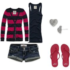 Perfect cozy, but cute outfit. I love shorts with long sleeves <3