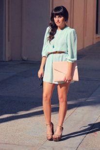 El color Mint está de moda | Lindo y fresco;)
