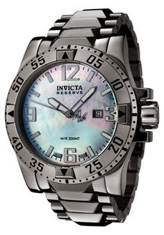 Men's Reserve Mother of Pearl Dial Stainless Steel