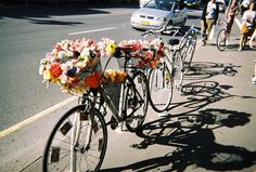 New goal: Run flower shop and only make bike deliveries.